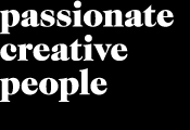 Passionate<br/>Creative<br/>People
